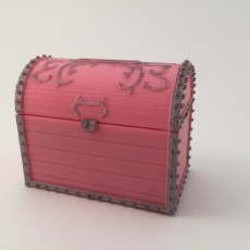 Picture of print of Treasure Chest Money Box