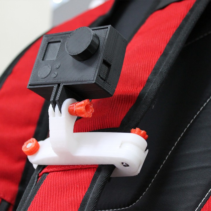 GoPro bag strap mount