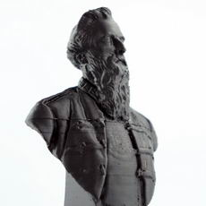 William Booth Bust on Mile End Road, London