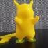 Pikachu print image