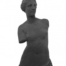 Picture of print of Venus de Milo at The Louvre, Paris Esta impresión fue cargada por Laurens