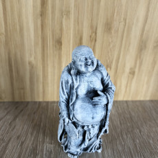 Picture of print of Glad Buddha