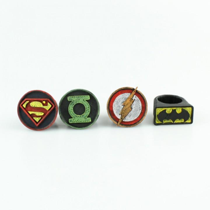 Heroes Ring Set