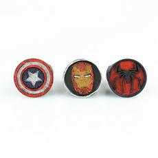 Marvel Hero Ring Set