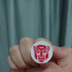 Picture of print of Transformers Ring Set 这个打印已上传 windwalker