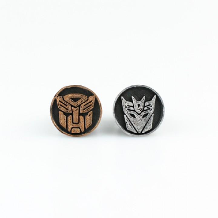 Transformers Ring Set