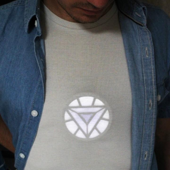 Iron Man Wearable Arc Reactor