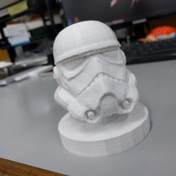 Picture of print of Star Wars Stormtrooper Bust This print has been uploaded by Matias Z