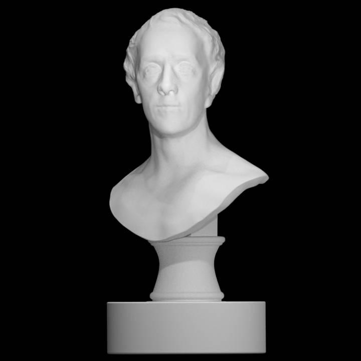 Bust of Philipe Dormer Stanhope