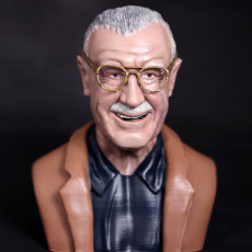 Picture of print of Stan Lee