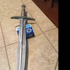 3D Printable Sting Sword by Ricardo Alves