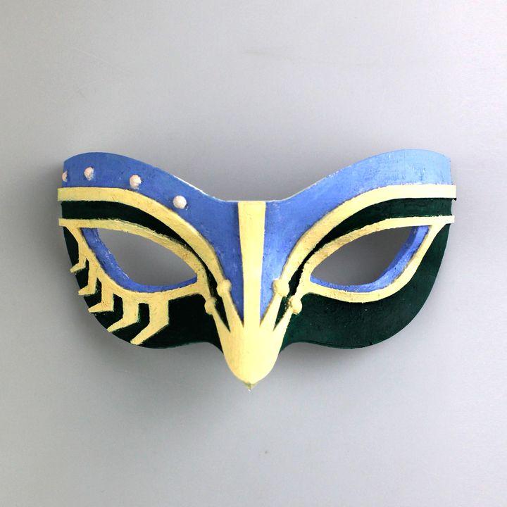 Crown Clown Mask