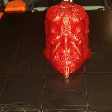 Picture of print of Hellboy Head
