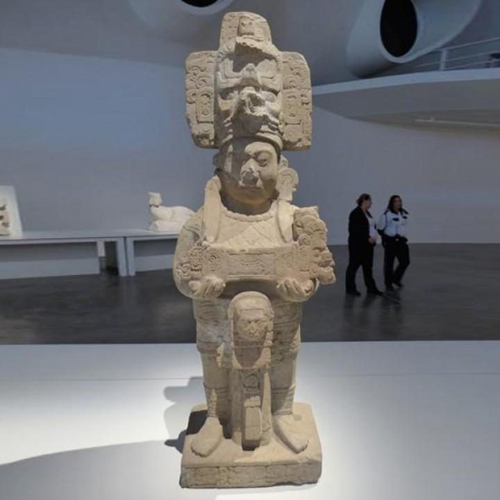 Ruler K'inich Chapat, Museum of Tonina, Mexico