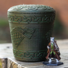 Picture of print of GOT Stark Dice Cup Этот принт был загружен Tim Jardim