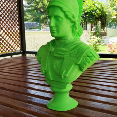 Picture of print of Alexander the Great Sculpture Statue, Italy