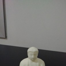 Picture of print of The Great Buddha at Kamakura, Japan
