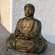 Picture of print of The Great Buddha at Kamakura, Japan 这个打印已上传 Seb Keihilin
