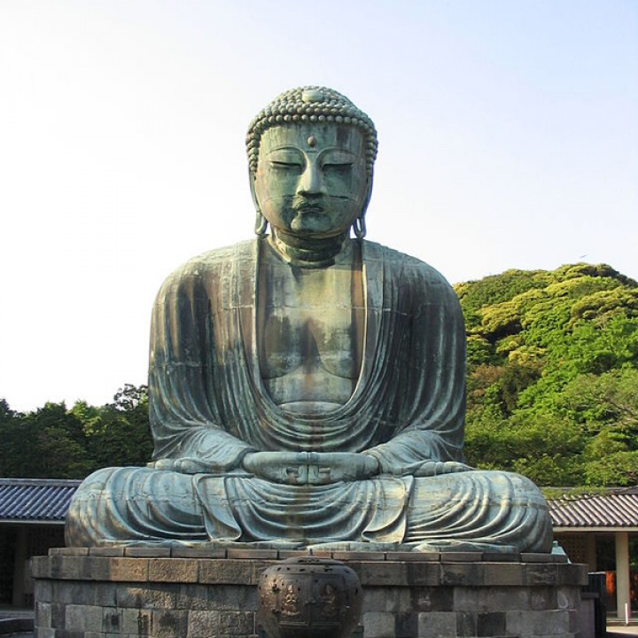 The Great Buddha at Kamakura, Japan