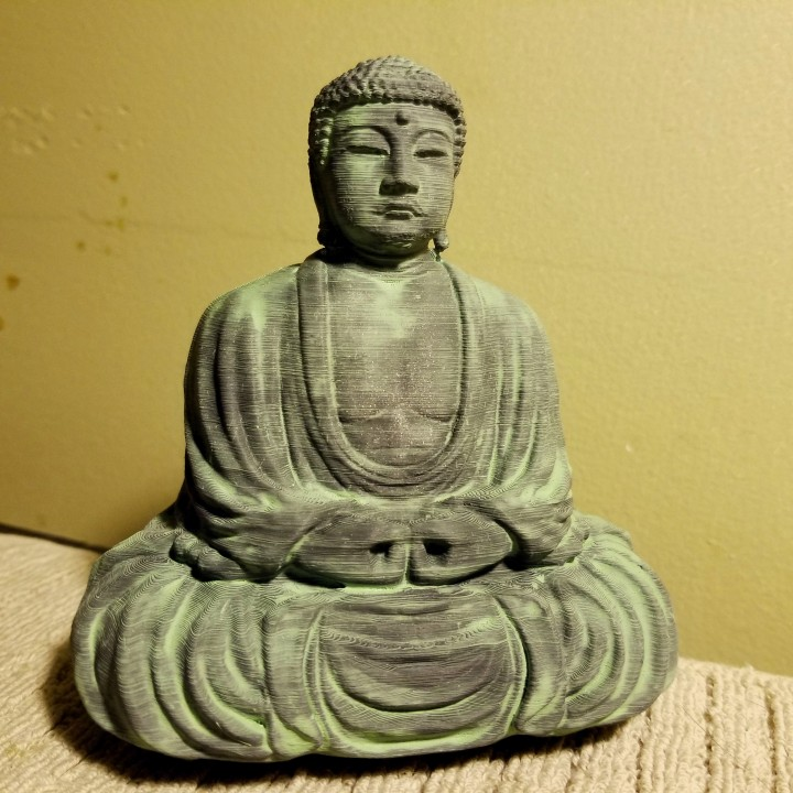 The Great Buddha at Kamakura, Japan
