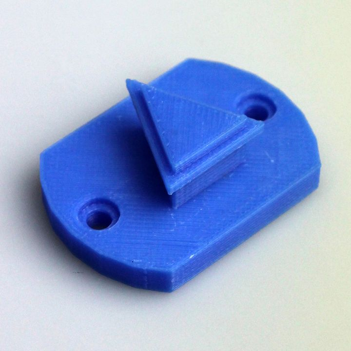 Holder for pliers with screw holes