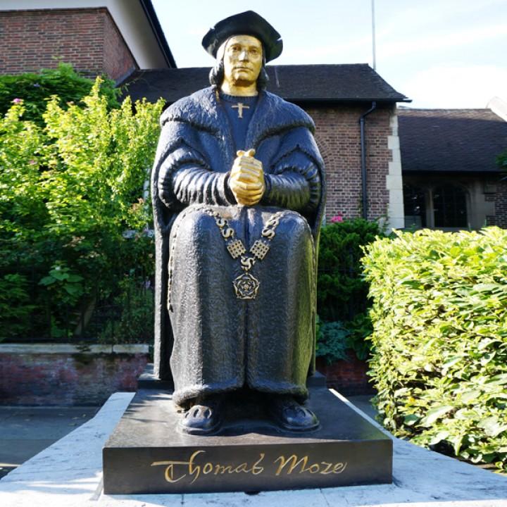 Thomas More at Chelsea Embankment, London