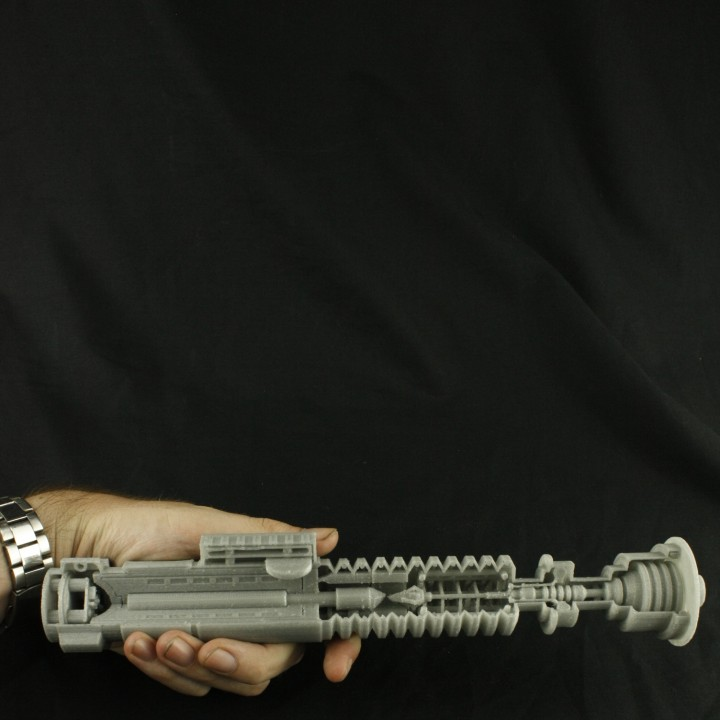 Detailed Sectioned Lightsaber
