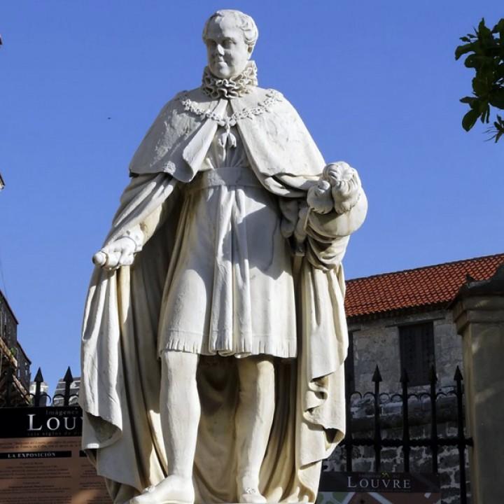 Fernando VII Monument in Plaza de Armas, Cuba
