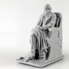 Statue of Charles Darwin by Sir Joseph Boehm at Natural History Museum, London