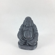 Picture of print of Buddha Statue
