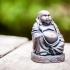 Buddha Statue print image