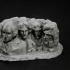 Mount Rushmore National Memorial in South Dakota, USA print image