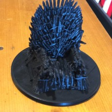 Picture of print of Game of Thrones - Iron Throne