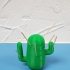 Cactus toothpick print image