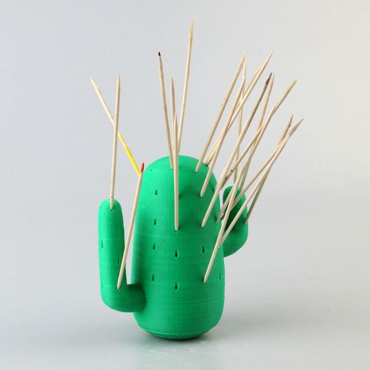 Cactus toothpick