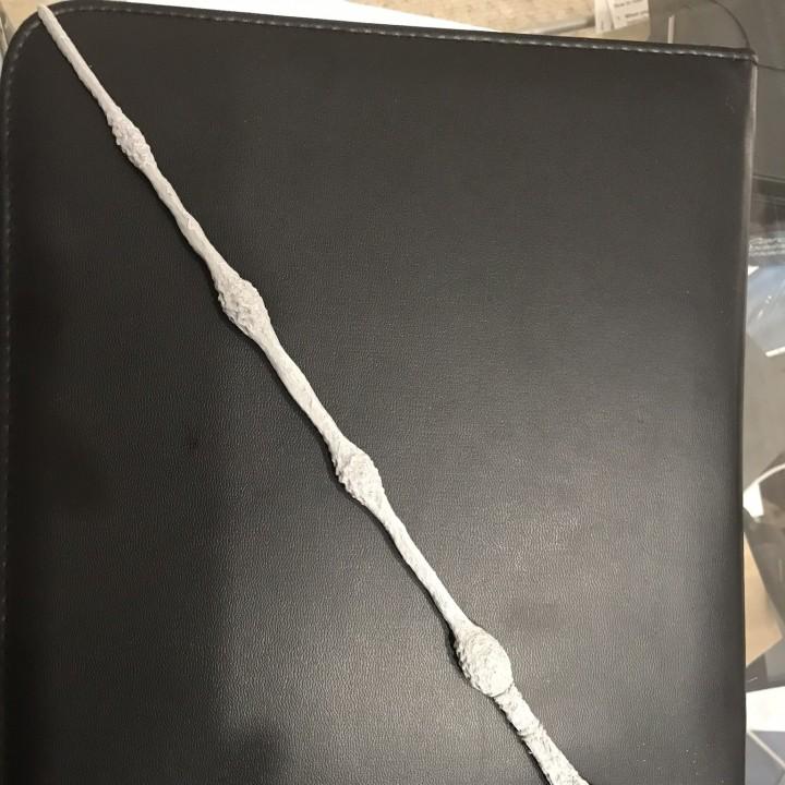 3d printable elder wand by mieszko lacinski for Elder wand made of