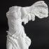 Winged Victory of Samothrace at The Louvre, Paris print image