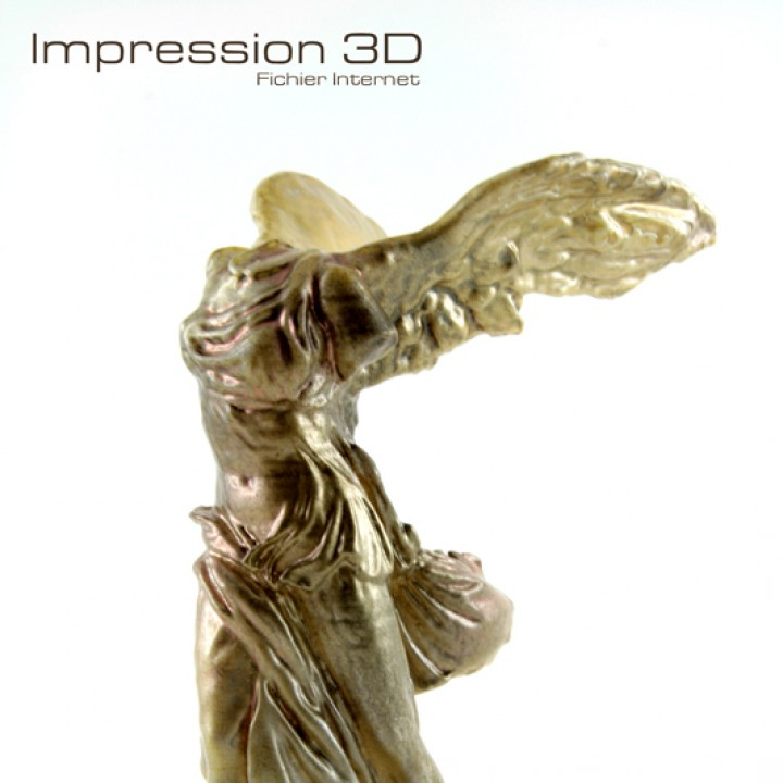 Picture of print of Winged Victory of Samothrace at The Louvre, Paris This print has been uploaded by oclains