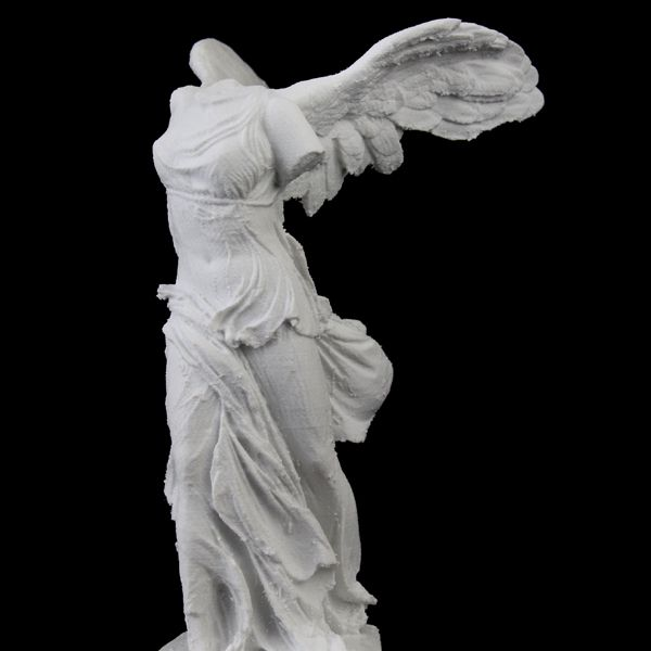 Winged Victory of Samothrace at The Louvre, Paris