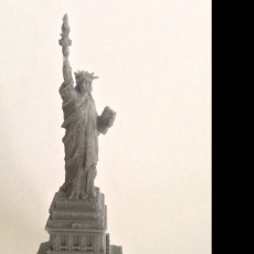 Picture of print of Statue of Liberty in Manhattan, New York This print has been uploaded by damian cabello