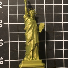 Picture of print of Statue of Liberty in Manhattan, New York Esta impresión fue cargada por Mark Brown