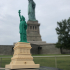 Statue of Liberty in Manhattan, New York print image