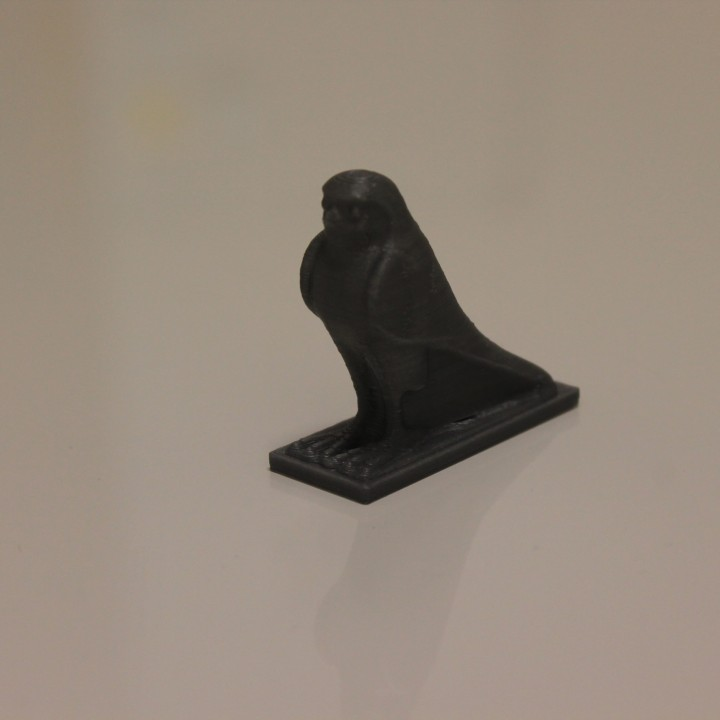 Picture of print of Falcon Relic Box at The British Museum, London This print has been uploaded by STARTT 3D Printer