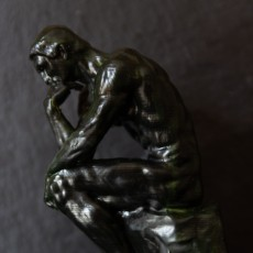 Picture of print of The Thinker at the Musée Rodin, France This print has been uploaded by Cousin Yann