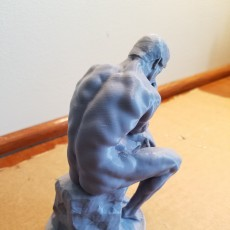 Picture of print of The Thinker at the Musée Rodin, France This print has been uploaded by Joel Bonasera