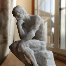 Picture of print of The Thinker at the Musée Rodin, France This print has been uploaded by Jack Mason