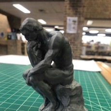 Picture of print of The Thinker at the Musée Rodin, France This print has been uploaded by Tyler Public Library