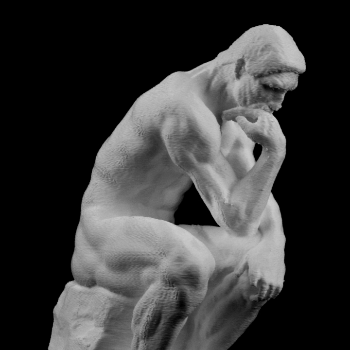 The Thinker at the Musee Rodin, France