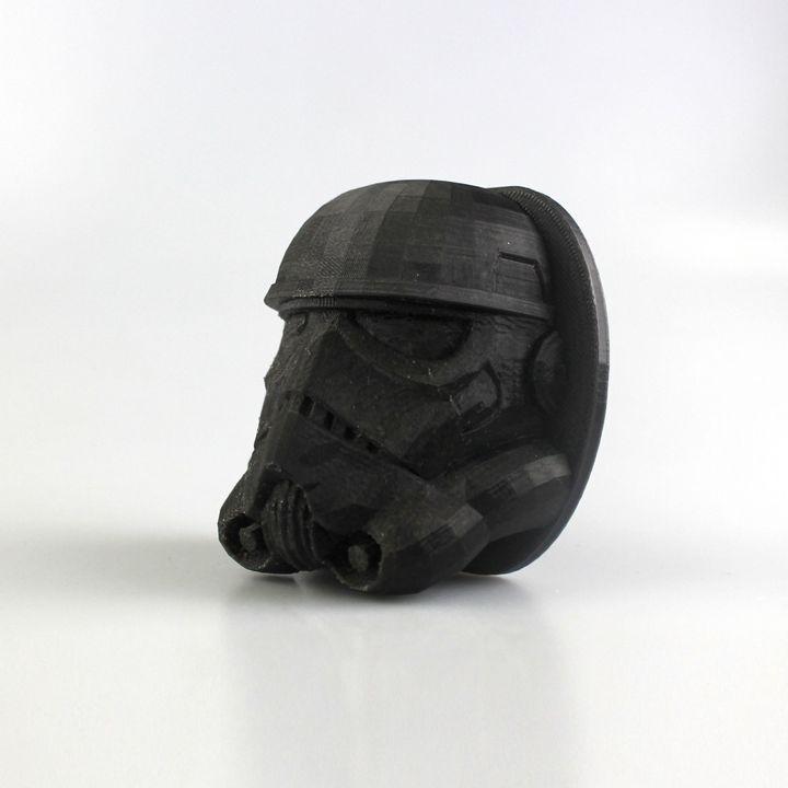 Storm Trooper wall mount