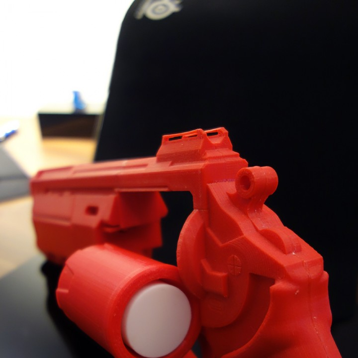 Picture of print of Duke MK. 44 Hand Cannon from Destiny This print has been uploaded by Tobias Ries